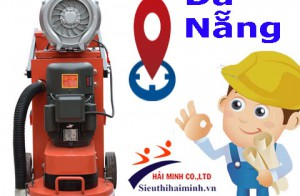 Nơi sửa chữa, cung cấp máy mài sàn hút bụi XF350 ở Đà Nẵng