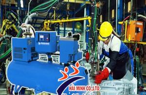 Ứng dụng máy nén khí chất lượng trong chế tạo bảo dưỡng phương tiện giao thông