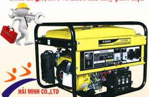 Cách xả gió, xả e và nước cho máy phát điện