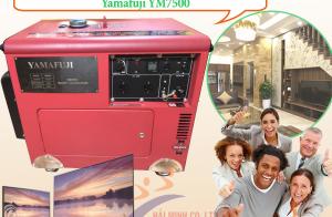 Đánh bay nỗi lo lịch cắt điện với máy phát điện Yamafuji YM7500