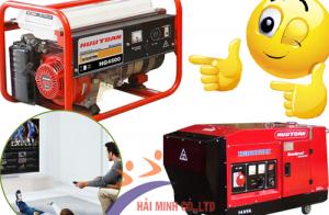 Dòng máy phát điện dân dụng Hữu Toàn được dùng phổ biến hiện nay