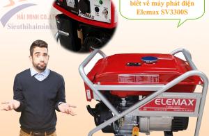 Những điều bạn chưa biết về máy phát điện Elemax SV3300S