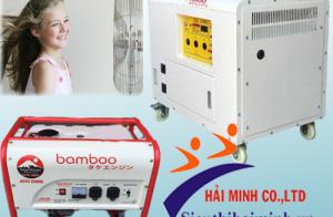 Tìm hiểu về dòng máy phát điện chống ồn Bamboo