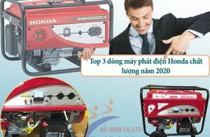 Top 3 dòng máy phát điện Honda chất lượng năm 2020