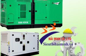 Vận hành, bảo dưỡng máy phát điện 3 pha công nghiệp đúng cách