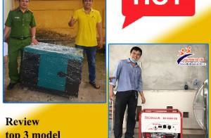 Review top 3 model máy phát điện cho gia đình bán chạy hiện nay