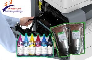 Nên sử dụng mực bột hay mực nước cho máy photocopy ?