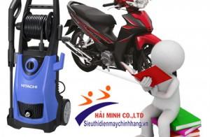Những điều cơ bản cần biết khi chọn mua máy rửa xe máy