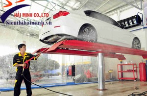 Giới thiệu những thiết bị rửa xe máy và ô tô chuyên nghiệp