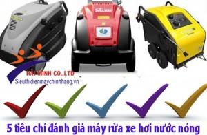 5 điểm tạo nên thương hiệu máy rửa xe nước nóng