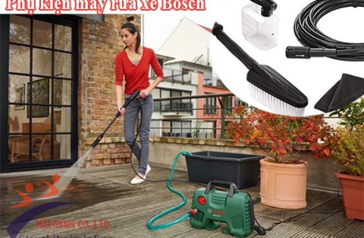 Báo giá trọn bộ phụ kiện máy rửa xe Bosch