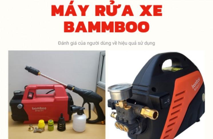 Đánh giá máy rửa xe gia đình Bamboo