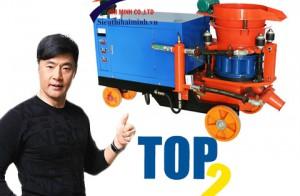 Top 2 máy phun vẩy bê tông đáng mua nhất hiện nay