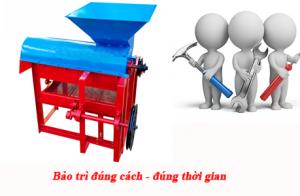 Hướng dẫn sử dụng và bảo quản máy tách hạt ngô đúng cách
