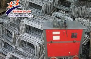 Lý do các đại lý bán sắt thép nên mua máy bẻ đai sắt xây dựng?