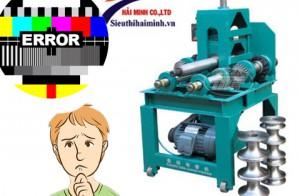 Cách vận hành và xử lý lỗi của máy uốn ống