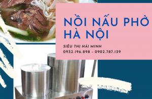 Mua nồi điện nấu phở bằng inox ở đâu tại Hà Nội