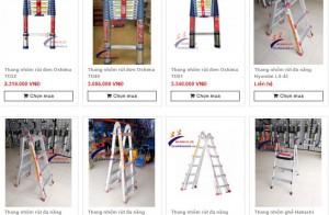 Nên mua thang nhôm ở trang web nào?