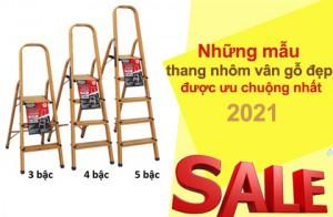 Những mẫu thang nhôm vân gỗ đẹp, được ưu chuộng nhất 2021