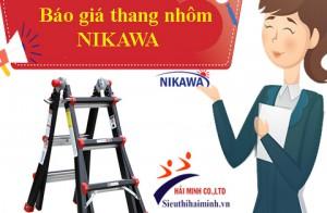 Tháng 10/2019 thang nhôm nikawa giá bao nhiêu?