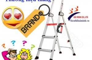 Các thương hiệu thang nhôm được ưa chuộng hiện nay?