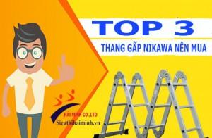 #3 sản phẩm thang nhôm gấp đa năng Nikawa bán chạy