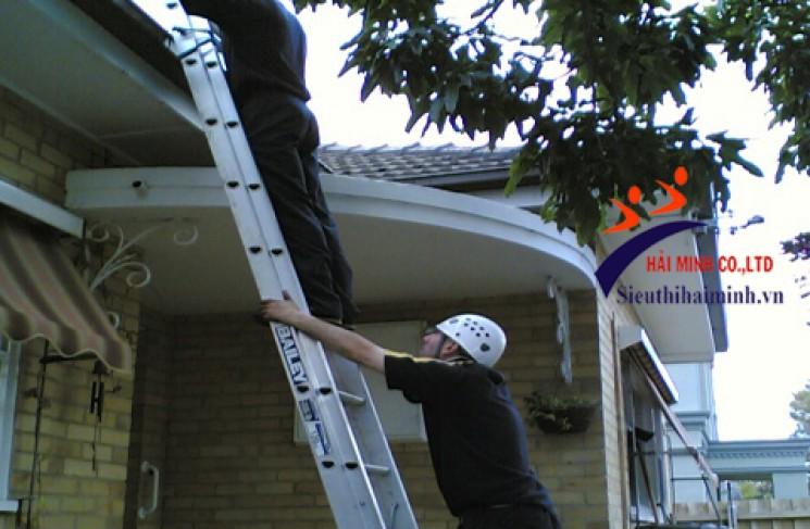 Cách sử dụng thang của bạn một cách an toàn