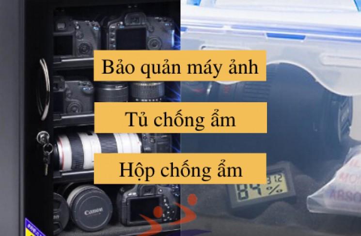 [2020] Mua tủ chống ẩm hay hộp chống ẩm cho máy ảnh?