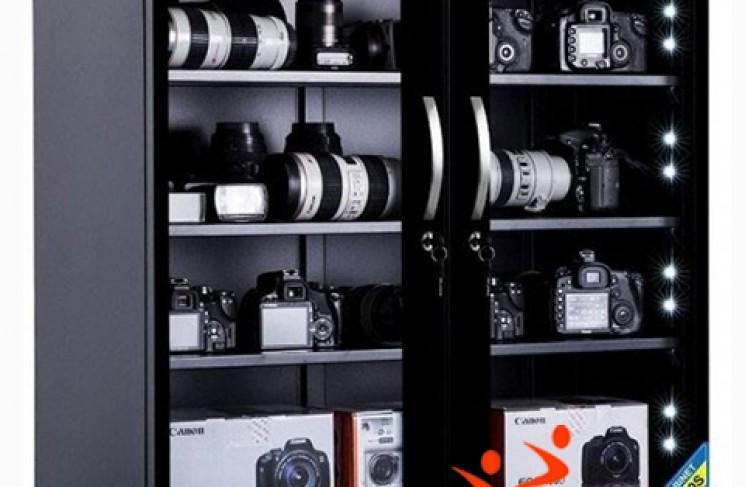 # Mua tủ chống ẩm máy ảnh dùng luôn cho loa âm thanh?